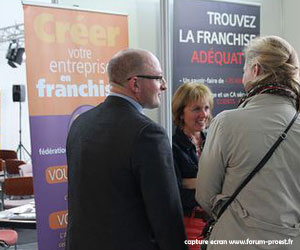 La franchise au forum proest 2013