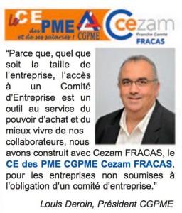 Carte CEZAM : le CE des PME