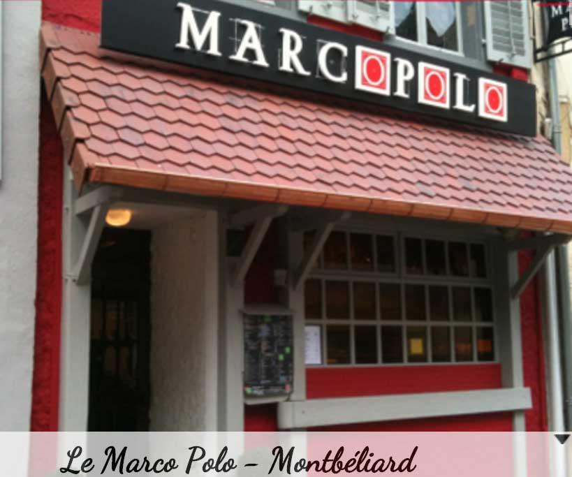 Le restaurant Marco Polo