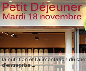 Petit Déjeuner CGPME 90 Mardi 18 novembre 2014