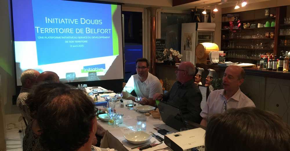 Pierre ARNAUD - Président d'Initiative Doubs - Territoire de Belfort
