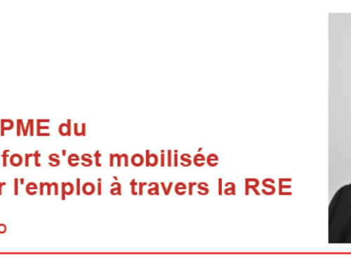 Article AEF : CGPME 90, Plate-forme RSE = emploi !